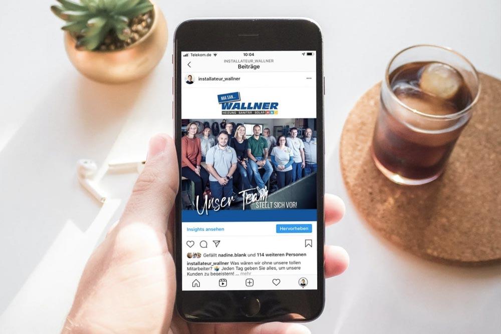 Social Media Wallner Haustechnik